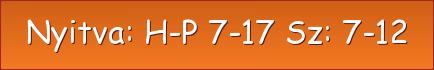 Micorex tüzép Miskolc, építőanyag kereskedés nyitva tartás: H-P 7-17 Sz: 7-12