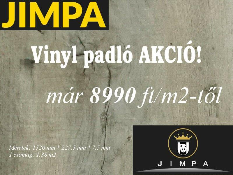 Jimpa vinyl padló akció Micorex tüzép, építőanyag kereskedelem Miskolc!