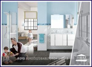 Micorex Miskolc ÚjHÁZ Centrum Royo Fürdőszoba bútor katalógus 2018