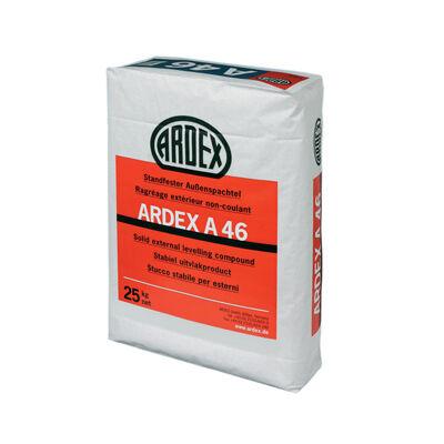 ARDEX A 46 stabil kültéri kiegyenlítő anyag cementbázisú