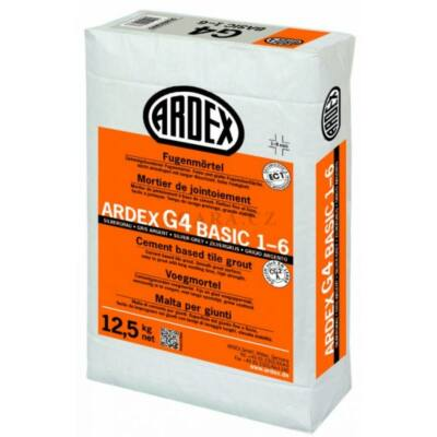 ARDEX G 4 1-6 Fugázó habarcs cement szürke