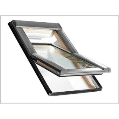 Roto R45 H billenő tetőtéri ablak, fa alsó kilinccsel és 2-rétegű üveggel 74/98