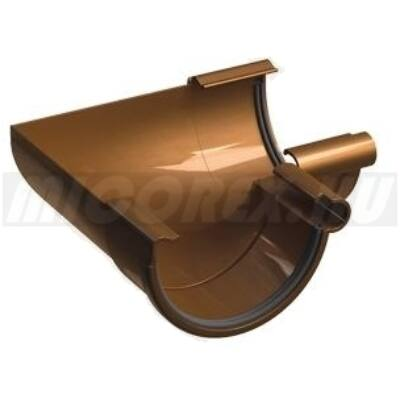 Galeco PVC ereszcsatorna rendszerelem belső szeglet LW