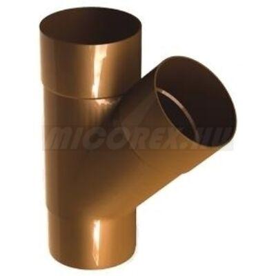 Galeco PVC ereszcsatorna rendszerelem elágazó idom TR