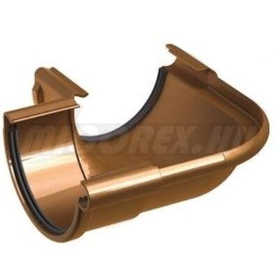Galeco PVC ereszcsatorna rendszerelem külső szeglet LZ